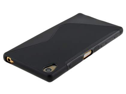 Wave Case for Sony Xperia Z5 Premium - Frosted Black/Black