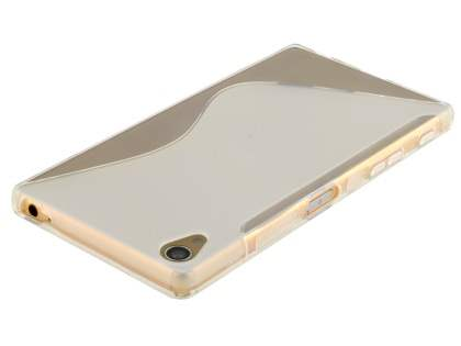 Wave Case for Sony Xperia Z5 Premium - Frosted Clear/Clear