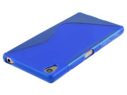 Wave Case for Sony Xperia Z5 Premium - Frosted Blue/Blue