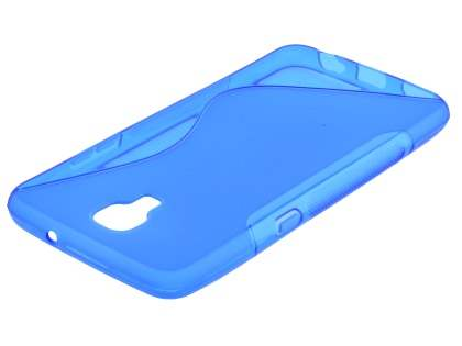 Telstra Signature Enhanced Wave Case - Frosted Blue/Blue