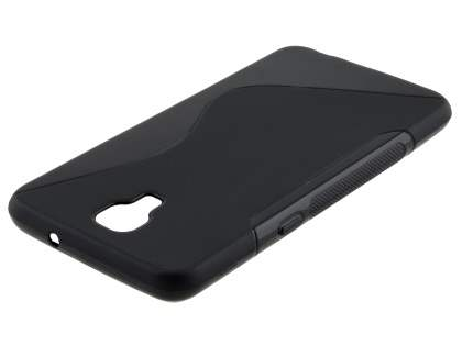 Telstra Signature Enhanced Wave Case - Frosted Black/Black