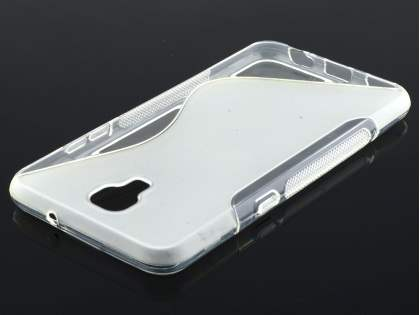 Telstra Signature Enhanced Wave Case - Frosted Clear/Clear
