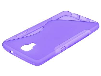 Telstra Signature Enhanced Wave Case - Frosted Purple/Purple