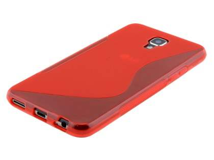 Telstra Signature Enhanced Wave Case - Frosted Red/Red