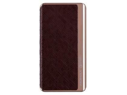 MOMAX iPower Elite+ 8000mAh Slim Rechargeable Battery Pack - Brown Power Bank