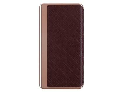 MOMAX iPower Elite+ 8000mAh Slim Rechargeable Battery Pack - Brown