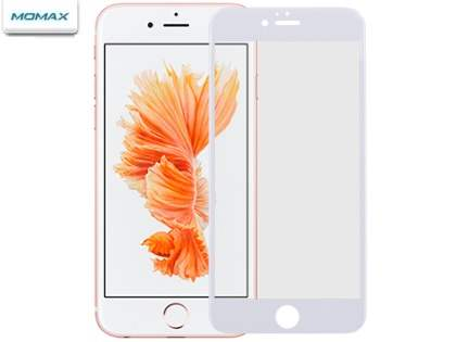 MOMAX Full Frame Glass Screen Protector for iPhone 6s Plus / 6 Plus - White