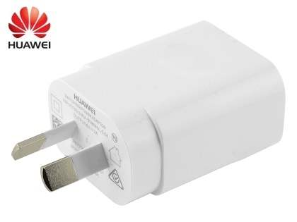 Genuine Huawei 2A AC Charger Adaptor with USB Port - White AC Wall Charger
