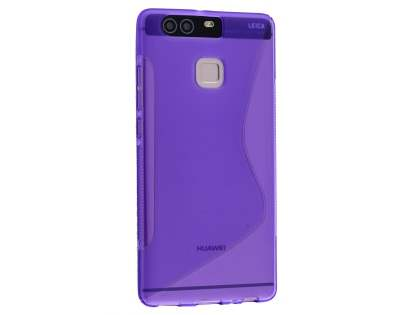 Wave Case for Huawei P9 - Frosted Purple/Purple Soft Cover