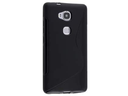 Wave Case for Huawei GR5 - Frosted Black/Black Soft Cover