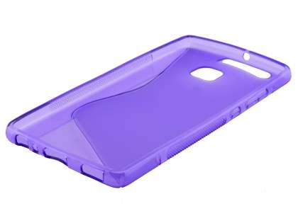 Wave Case for Huawei P9 - Frosted Purple/Purple