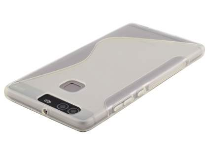 Wave Case for Huawei P9 - Frosted Clear/Clear
