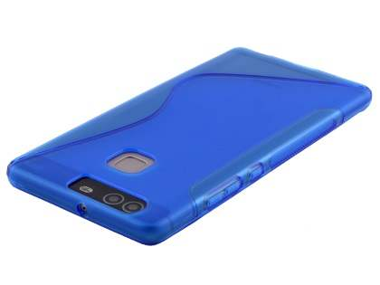 Wave Case for Huawei P9 - Frosted Blue/Blue