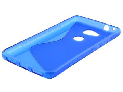 Wave Case for Huawei GR5 - Frosted Blue/Blue