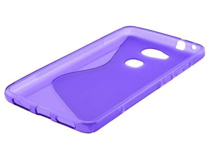 Wave Case for Huawei GR5 - Frosted Purple/Purple