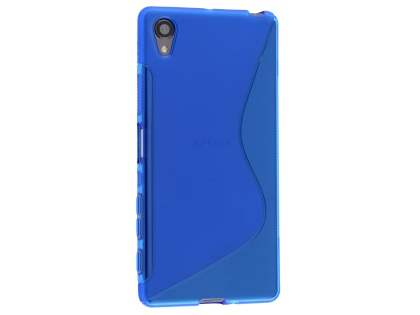 Wave Case for Sony Xperia X - Frosted Blue/Blue Soft Cover