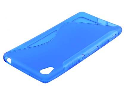 Wave Case for Sony Xperia XA - Frosted Blue/Blue