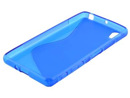 Wave Case for Sony Xperia X - Frosted Blue/Blue