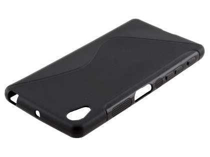 Wave Case for Sony Xperia X - Frosted Black/Black