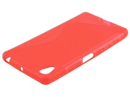 Wave Case for Sony Xperia X Performance - Frosted Red/Red