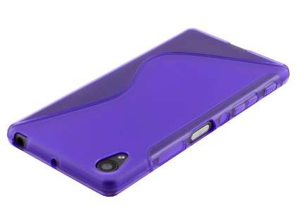 Wave Case for Sony Xperia X Performance - Frosted Purple/Purple