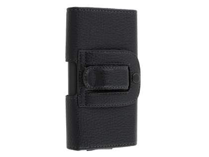 Textured Synthetic Leather Belt Pouch for Sony Xperia X Performance