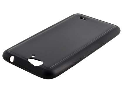 TPU Gel Case for Telstra 4GX HD - Classic Black Soft Cover