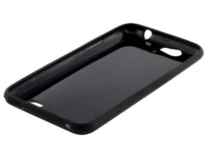 TPU Gel Case for Telstra 4GX HD - Classic Black