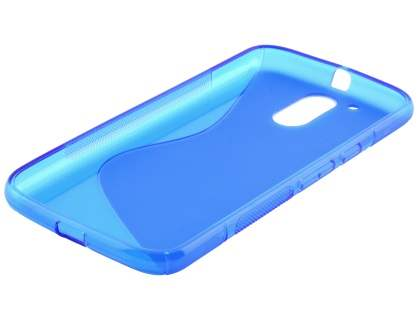 Wave Case for Motorola Moto G4/G4 Plus - Frosted Blue/Blue