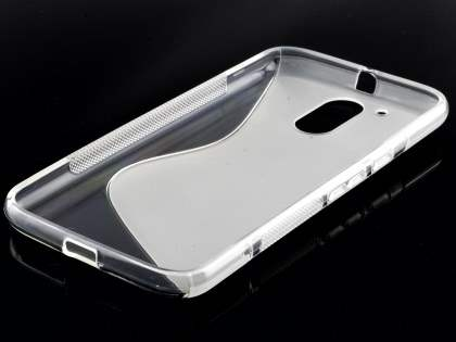 Wave Case for Motorola Moto G4/G4 Plus - Frosted Clear/Clear