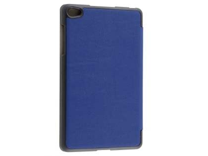 Slim Synthetic Leather Flip Case with Stand for Huawei MediaPad M2 8.0 - Navy