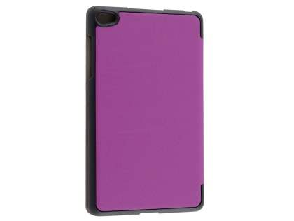 Premium Slim Synthetic Leather Flip Case with Stand for Huawei MediaPad M2 8.0 - Purple