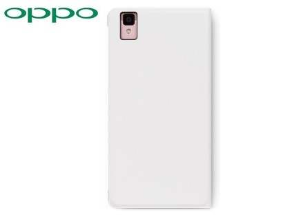 Genuine OPPO R7s Smart Flip Cover - White