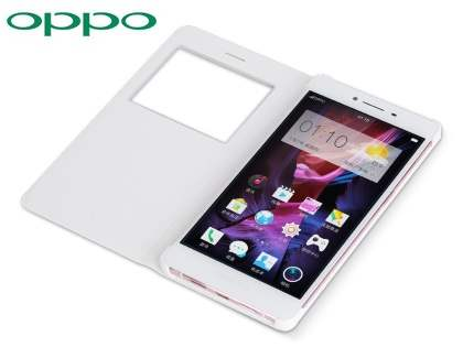 Genuine OPPO R7s Smart Flip Cover - Pink