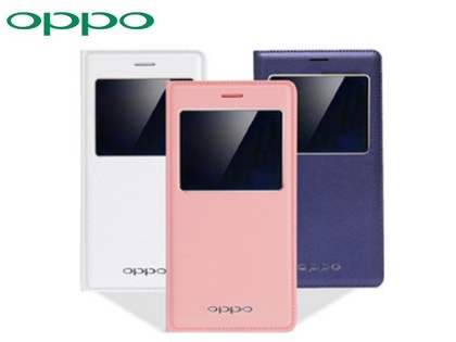 Genuine OPPO R7s Smart Flip Cover - Blue