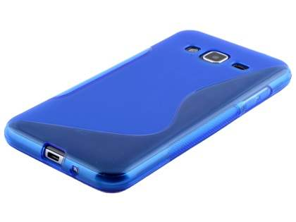 Wave Case for Samsung Galaxy J3 (2016) - Frosted Blue/Blue