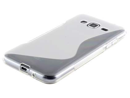 Wave Case for Samsung Galaxy J3 (2016) - Frosted Clear/Clear