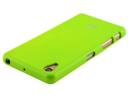 Mercury Goospery Glossy Gel Case for Sony Xperia X Performance - Lime