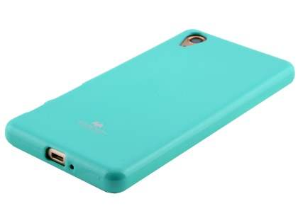 Mercury Glossy Gel Case for Sony Xperia X Performance - Mint Green