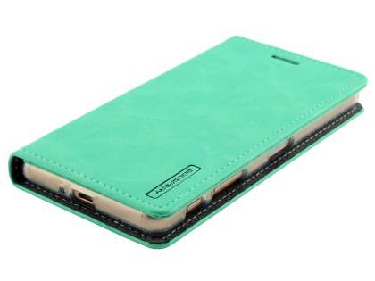 Mercury Blue Moon Wallet Case for Sony Xperia X Performance - Mint