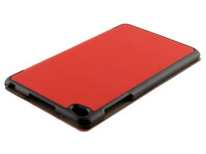Premium Slim Synthetic Leather Flip Case with Stand for Huawei MediaPad M2 8.0 - Red