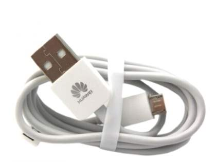 Genuine Huawei Micro USB Data Cable - White