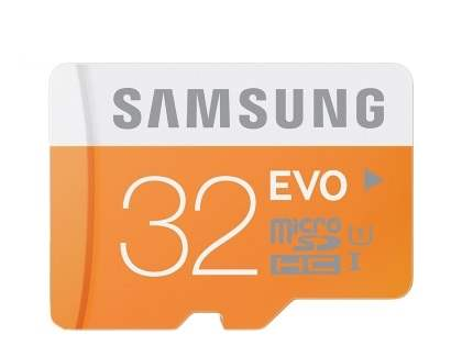 Genuine Samsung Metal OTG USB with 32GB MicroSD Card - Gold
