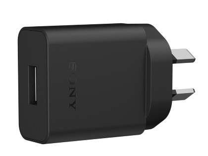 Genuine Sony UCH20 USB Charger - Classic Black AC Wall Charger