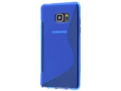 Wave Case for Samsung Galaxy Note7 - Frosted Blue/Blue Soft Cover