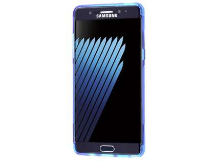 Wave Case for Samsung Galaxy Note7 - Frosted Blue/Blue