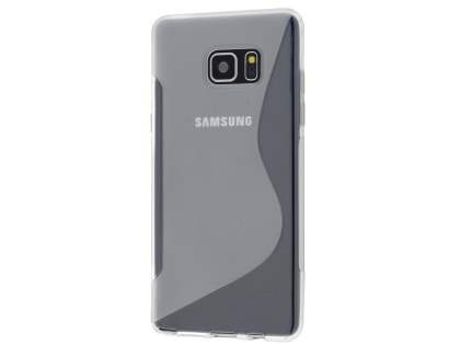 Wave Case for Samsung Galaxy Note7 - Frosted Clear/Clear Soft Cover