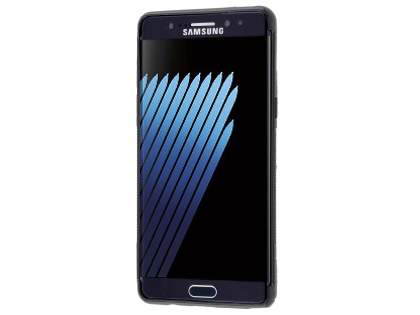Wave Case for Samsung Galaxy Note7 - Frosted Black/Black