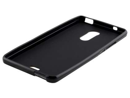 Frosted TPU Gel Case for ZTE Blade V Plus - Classic Black