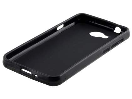 Frosted TPU Gel Case for Huawei Y3II - Classic Black